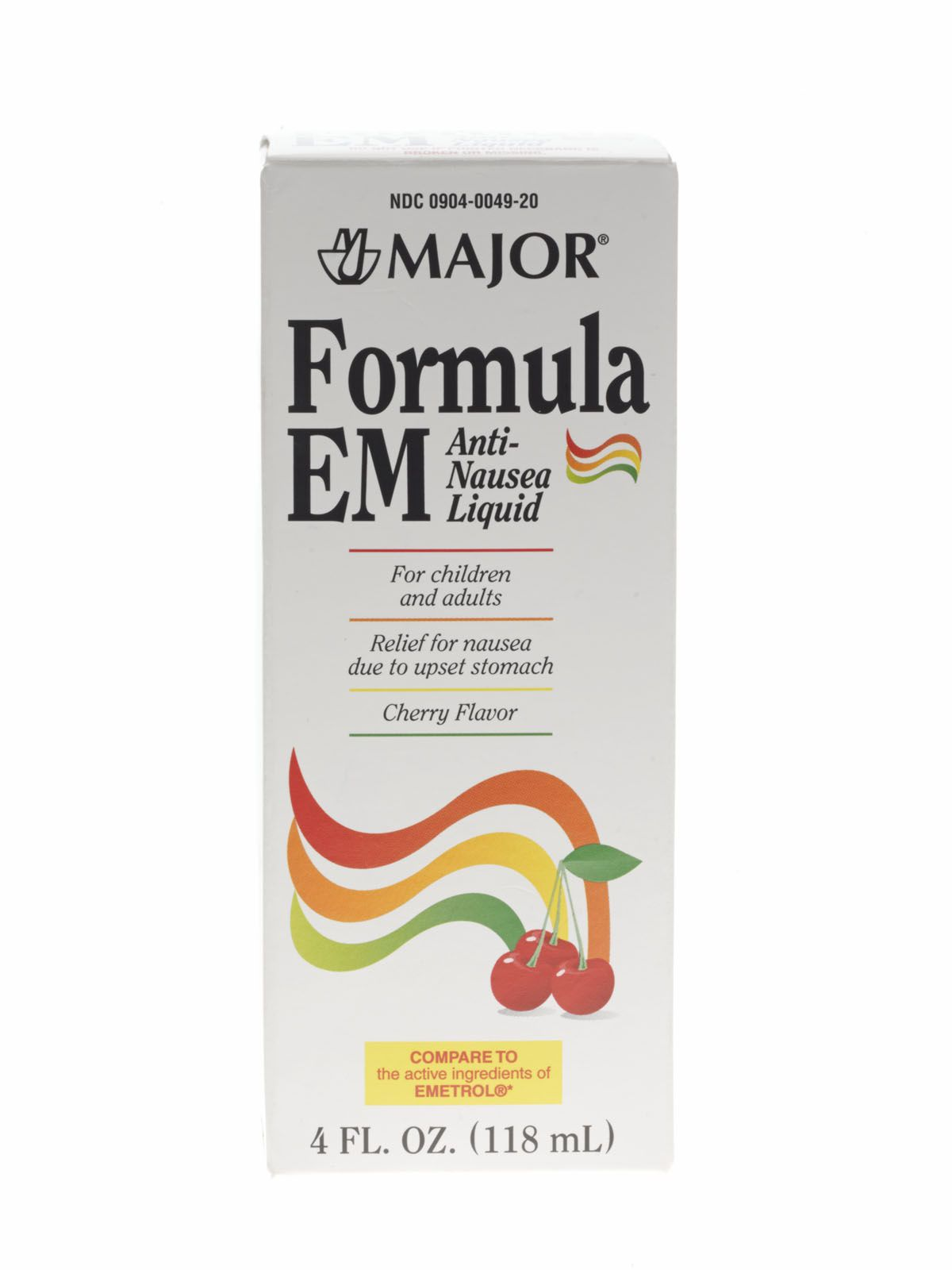 Generic OTC Formula EM Liquid Nutritional Formula - Emetrol Liq Cherry 118Ml Bt, Each - Model 700798