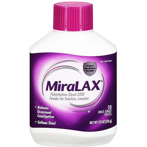 Generic OTC Miralax Powder - Miralax Laxative Pwd 17.9Oz Bt, 1 Bottle - Model 82071