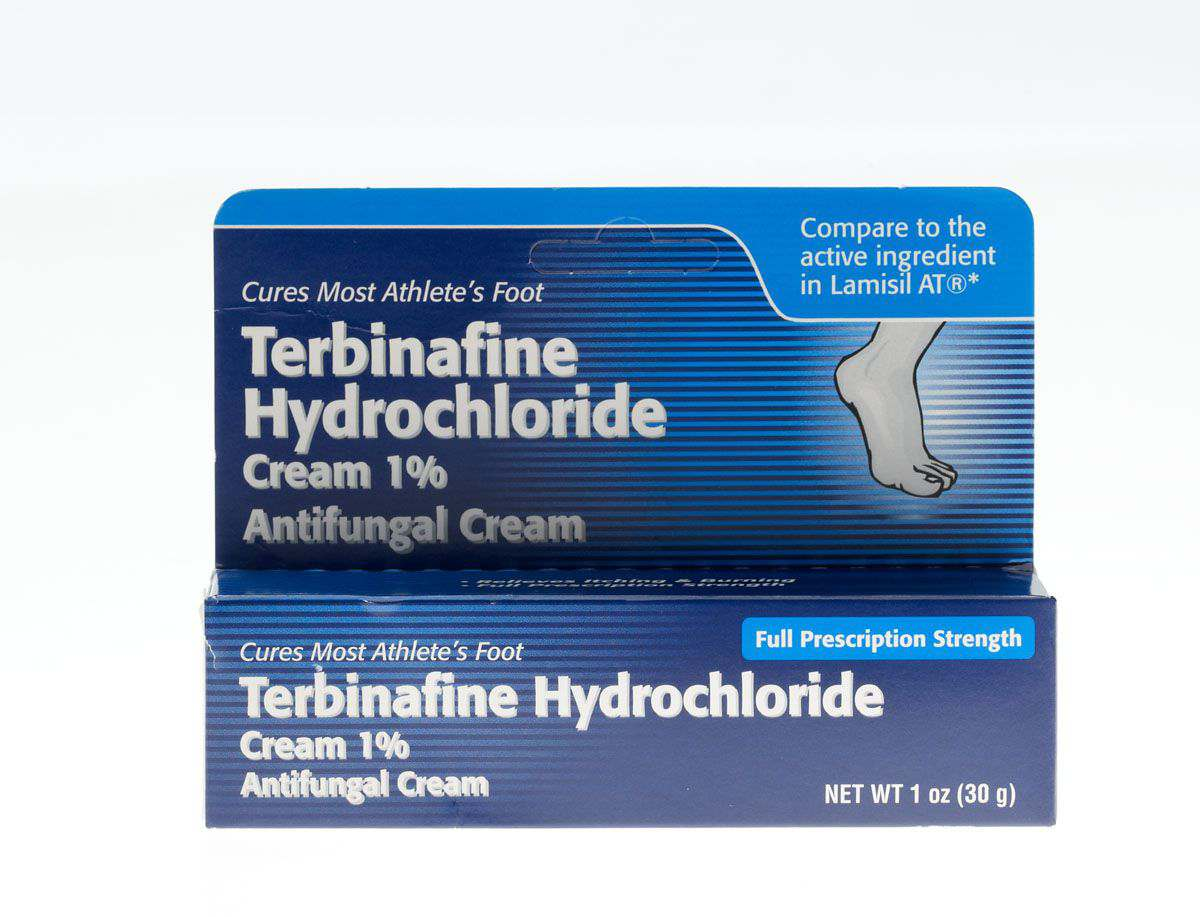 Generic OTC Terbinafine Antifungal Cream - Terbinafine Hcl 1% Crm 1Oz Tube, Each - Model OTC477142