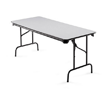 Global Industries Midwest Folding Table - RECTANGULAR - Model GNFFT3072, Each
