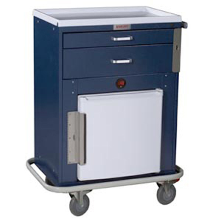 Harloff Classic Line Malignant Hyperthermia Cart Standard Package - Model 6640, Each