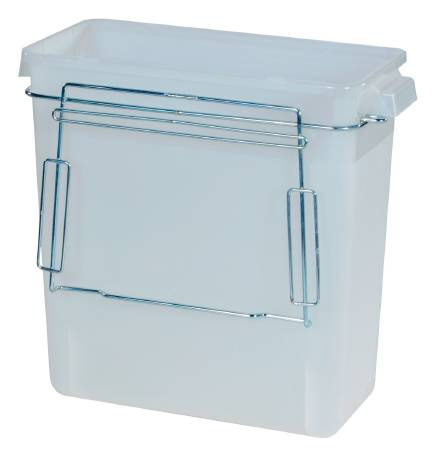 Harloff Waste Container, Accessory for Medical Carts, Each - Model 684805