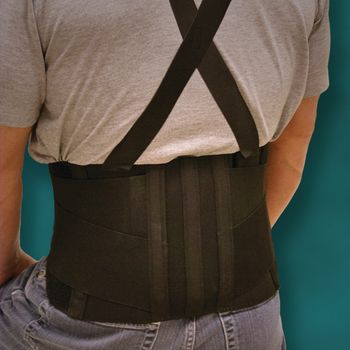 Heavy Duty & Industrial Mesh Back Support - Model 6000, XS, Hip or Waist: 28 - 32 - Item #081544931