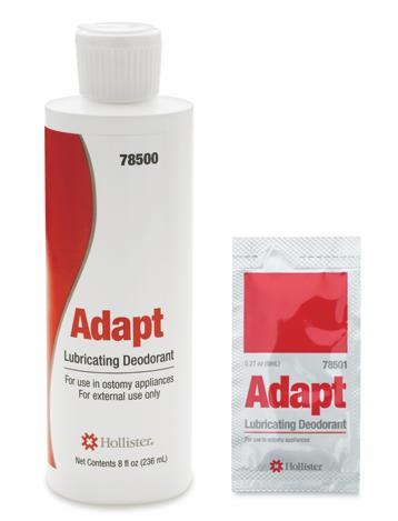 Hollister Adapt Lubricating Deodorant - Lubricant, Ostomy, Adapt 8Oz Btl, Each - Model 78500