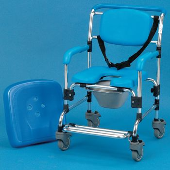 Homecraft Ocean Wheeled Shower Commode Chair - Model 565850