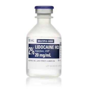 5 lidocaine injection