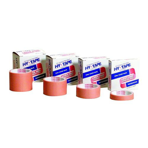Hy-Tape Pink Lates-Free Tape - Tape Hy-Tape 3X5Yd Pink Individual, Each - Model 130BLF