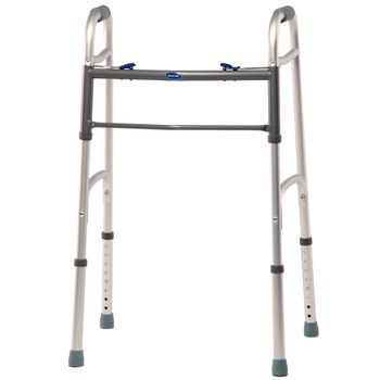 Invacare Blue-Release Two-Button Walker - Junior Walker - Item #563506