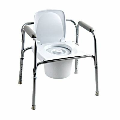 Invacare Commode Chair Steel Steel Back Bar 16 To 22 Inch