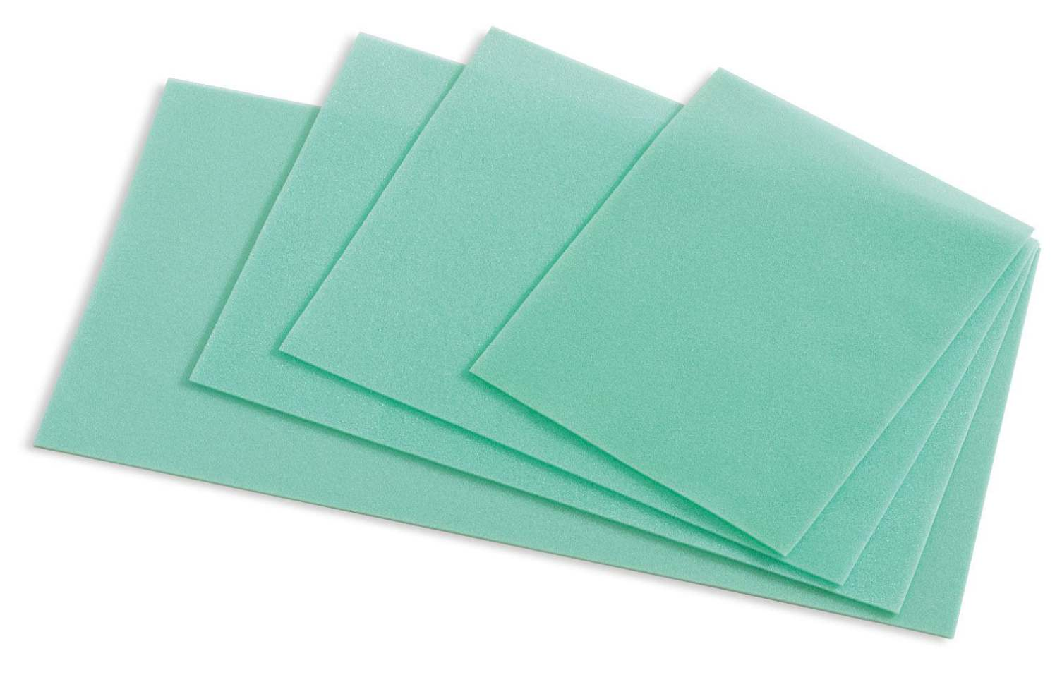 Kendall Instrument Tray Pad - Extra-Fine, Pre-Cut, Reticucel, Box of 75 - Model 31141016