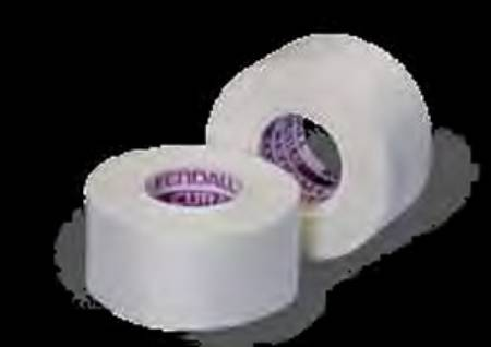 Kendall Tape, Silk 2 Inch X 10 Yards, White, Box of 6 - Model 7139C