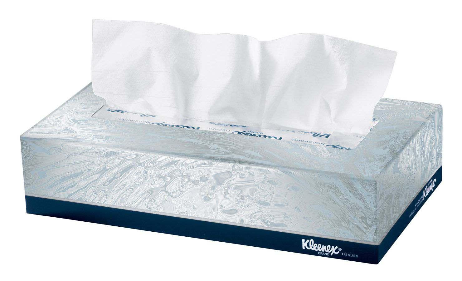 Kimberly-Clark Kleenex Facial Tissue - Wht, Each - Model 21400