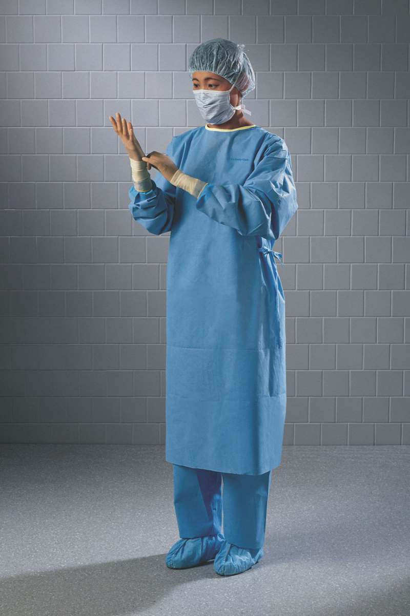 Kimberly-Clark Non-Reinforced Surgical Gown - N/Reinforced, Towel ...