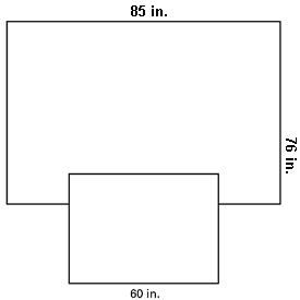 Kimberly clark overhead table cover 85x76 skirt 60x44 for Table 85 address