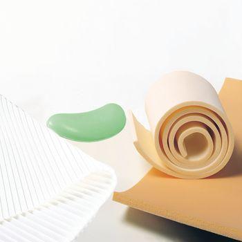 how to cut odd shapes in foam rubber