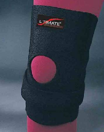L'TIMATE Knee Brace, Large Strap Closure 15 to 16 Inch Circumference 9 Inch Left or Right Knee, Each