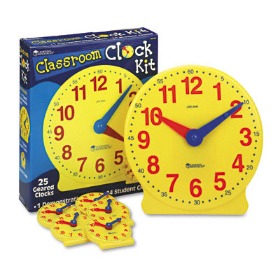 Learning Resources About Time Set NEW