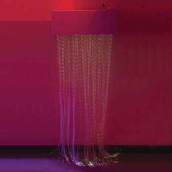 LED Fiber Optic Cascade Curtain - Item #81555614