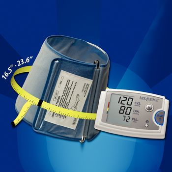 LifeSource UA-789-XL AC Bariatric Blood Pressure Monitor - Item #563523