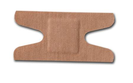 McKesson Medi-Pak Performance Adhesive Strip, Fabric 1-1/2 X 3 Inch Knuckle Beige, Box of 100 - Model 16-4814