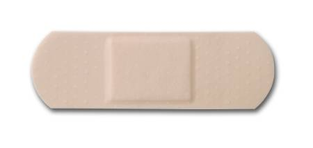 McKesson Medi-Pak Performance Adhesive Strip, Sheer 1 X 3 Inch Rectangle Beige, Each - Model 16-4821