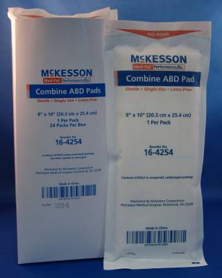 McKesson Medi-Pak Performance Plus - Model 16-4254