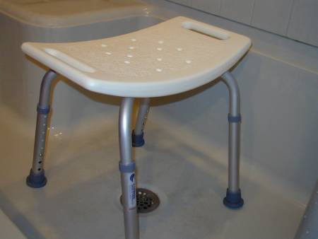 Mckesson Sunmark Econo Shower Safety Chair 14 To 21 Inch