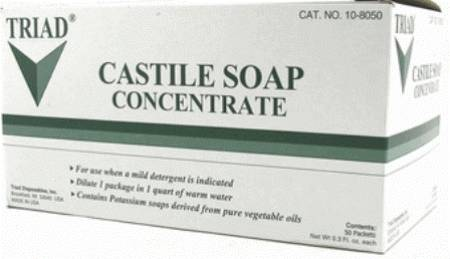 Medical Action Castile Soap, 1/3 oz. Single Use Pouch, Box of 125 - Model 24-10MAI