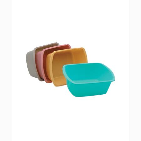 Medical Action Wash Basin Polypropylene 7-2/5 Quart Rectangle, Turquoise, Each - Model H362-07