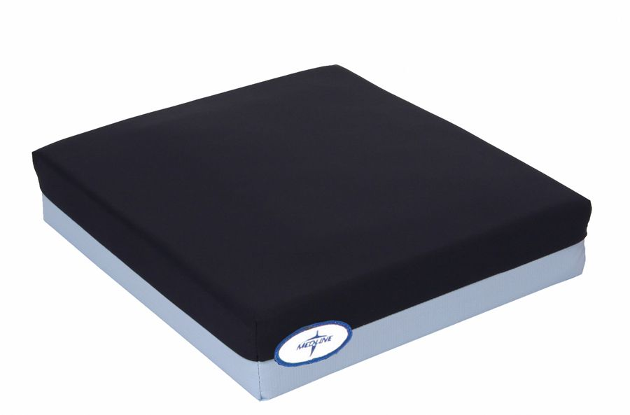 Gel Foam Pressure Redistribution Cushion - w/ C, Pressure Reduct, 18X18X2, Each - Model MSCPRC21818