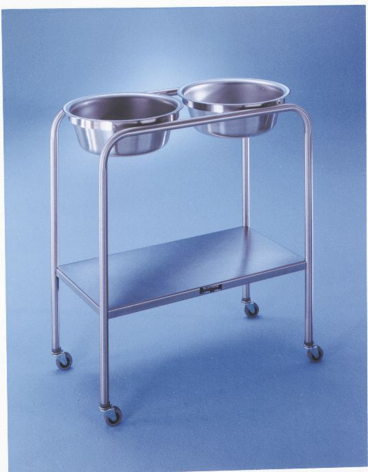 Double Basin Solution Stand - Solutn, Ss, 8.5Qt, Dbl, Shelf, 7808Ss, 8.5 qt us, Each