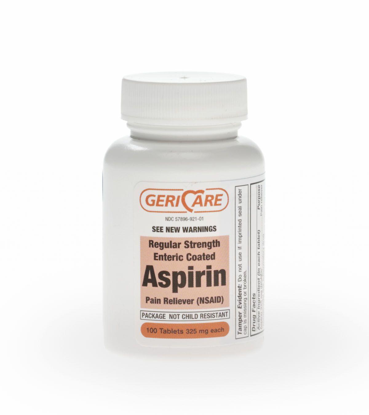 Generic OTC Aspirin Enteric Coated Tablet - Aspirin Ec 325Mg Tab 100/Bt, Each - Model 92101