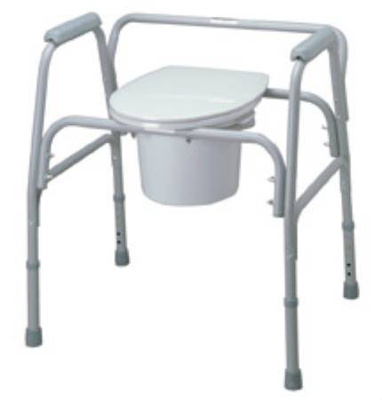 Medline Bariatric Commode 20-1/2 Inch, Each - Model MDS89664XW