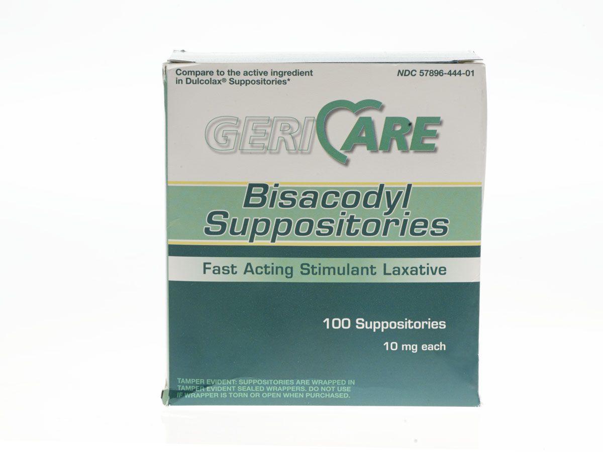 Generic Otc Bisacodyl Suppositories Box Of 100 Model 10199bx
