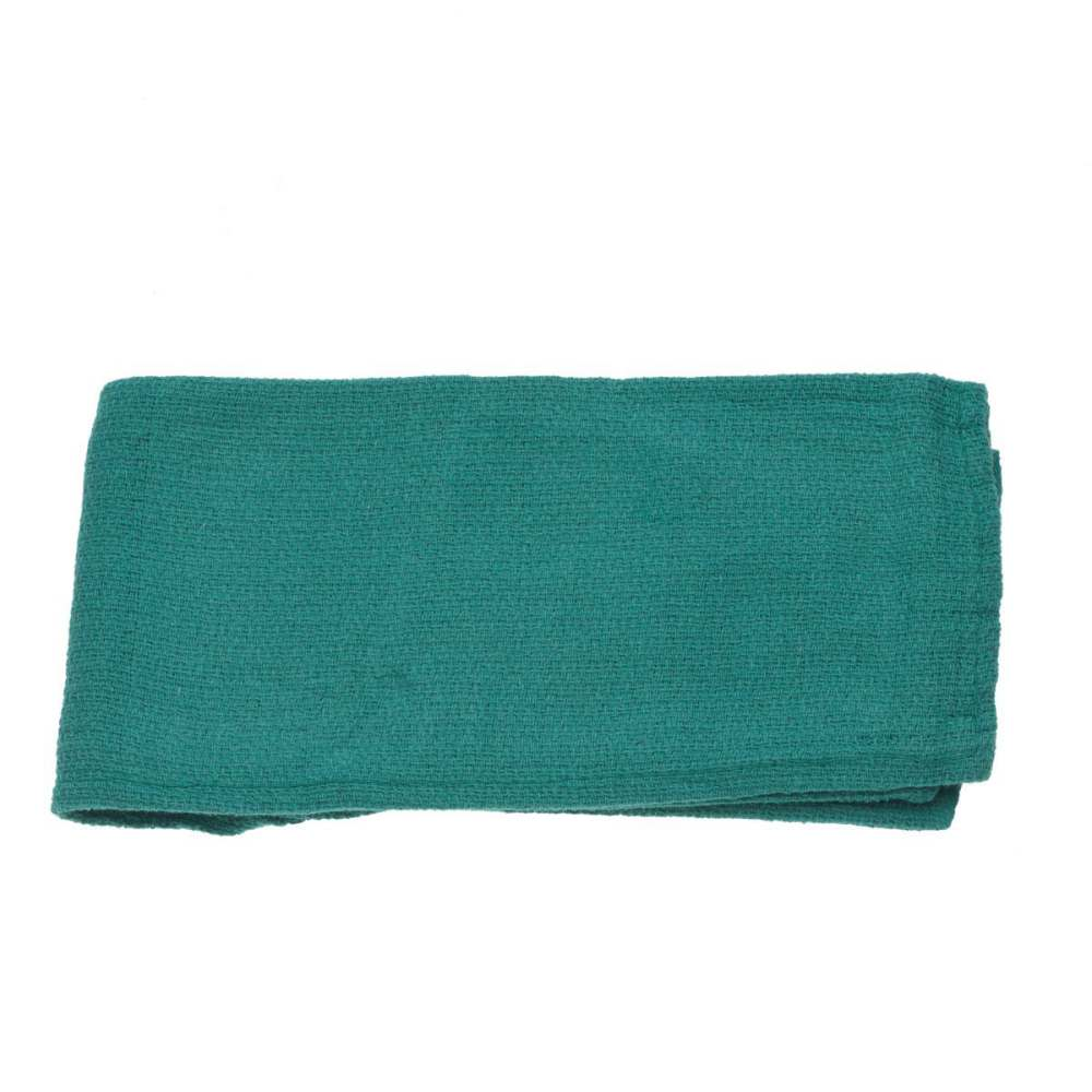 Medline Non-Sterile Disposable OR Towel - Dsp, Ns, Green, Bulk, Box of 100 - Model MDT216800