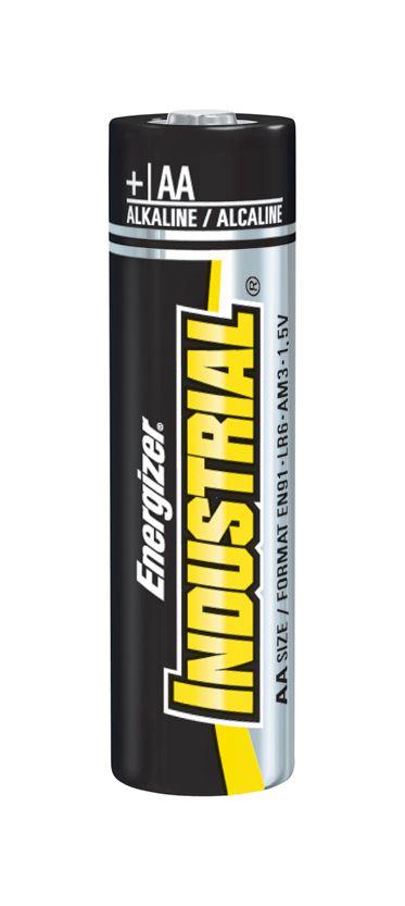 energizer industrial alkaline battery battery 1 5v aa each model en91. Black Bedroom Furniture Sets. Home Design Ideas