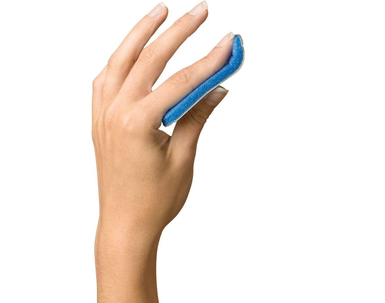 Medline Curved Finger Splint - 1.5
