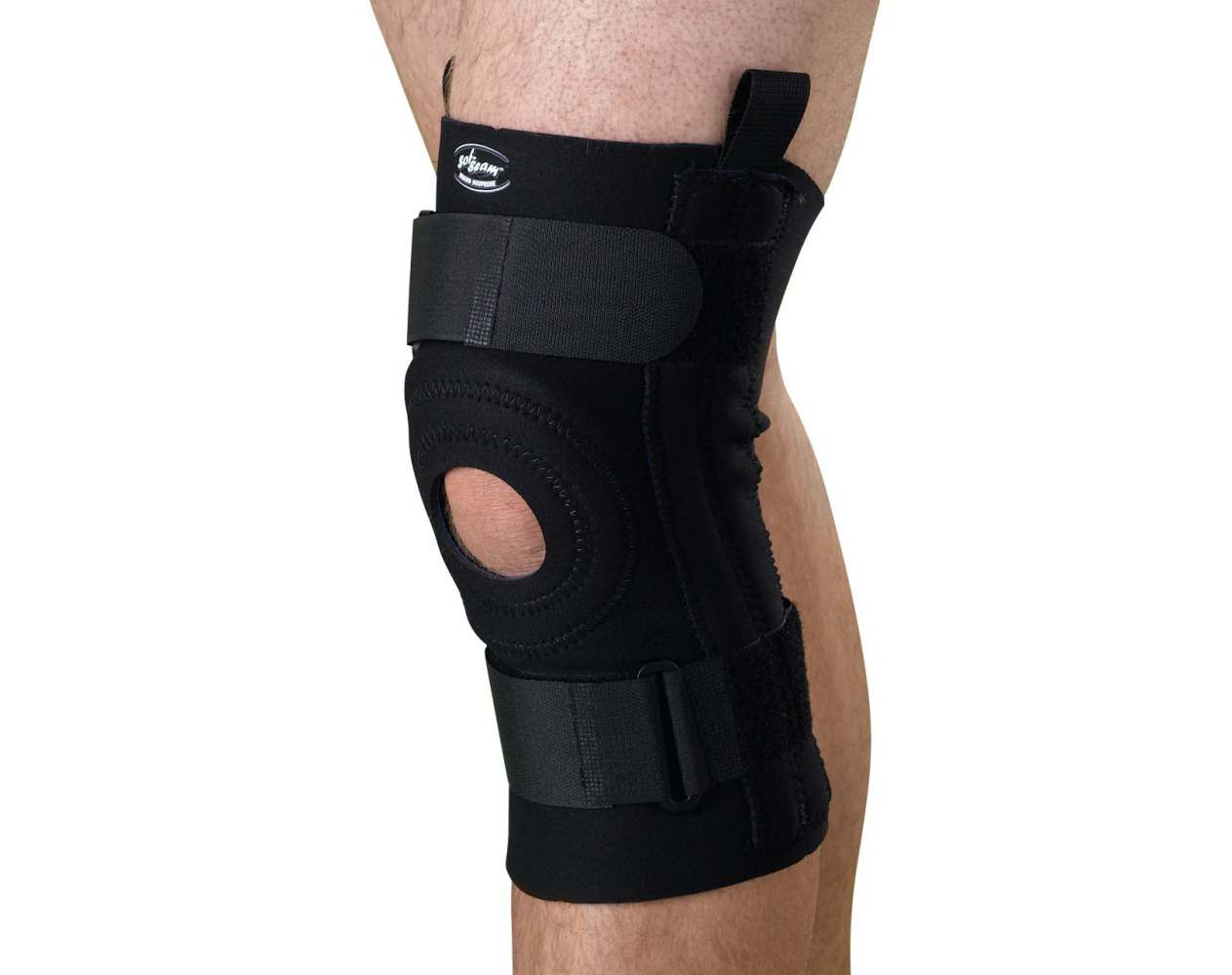 Medline Knee Supports with Removable U-Buttress - w/ U-Butress, Lg, Each - Model ORT23230L