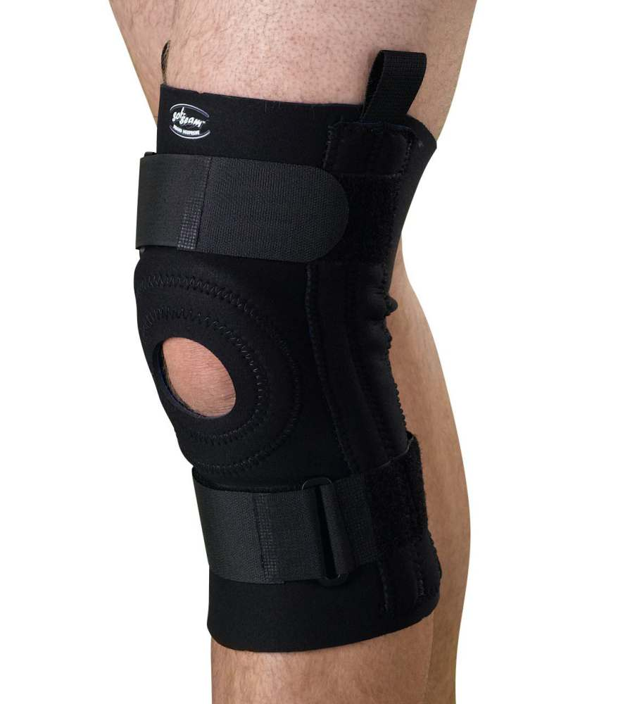 Medline Knee Supports with Removable U-Buttress - w/ U-Butress, 2Xl, Each - Model ORT232302XL