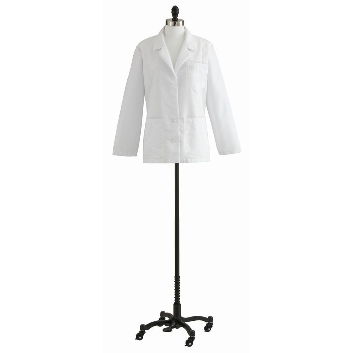 Medline Ladies Consultation Coat - White, 24, Each - Model 88018QHW24
