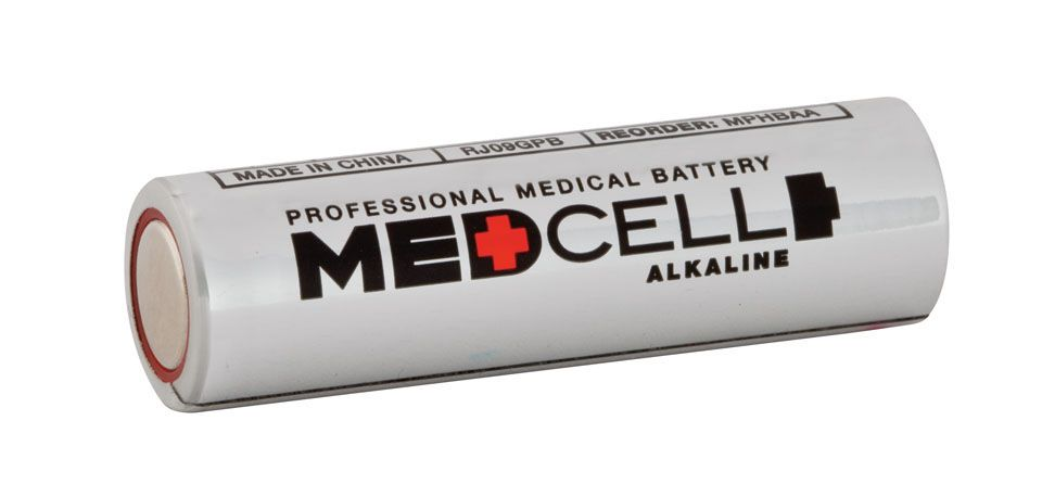 Medline MedCell Alkaline Battery - Battery, 1.5V, Aa, Box of 144 - Model MPHBAA