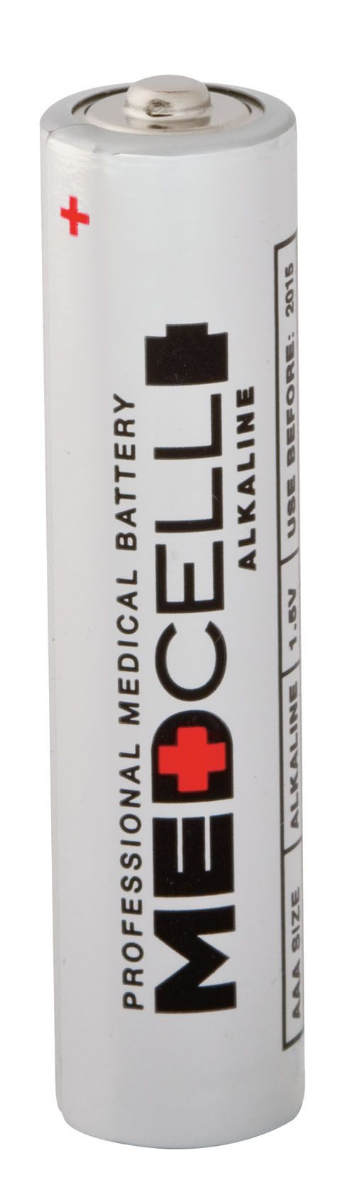 Medline MedCell Alkaline Battery - Battery, 1.5V, Aaa, Box of 24 - Model MPHBAAA