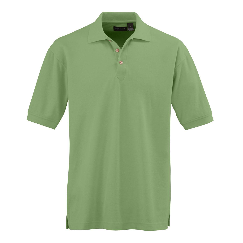 Medline Mens Whisper Pique Polo Shirt 60c40p Apple Grn 4x