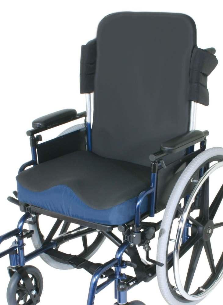 Wheelchair Seat Cushions Product : Medline incrediback rigid wheelchair cushion