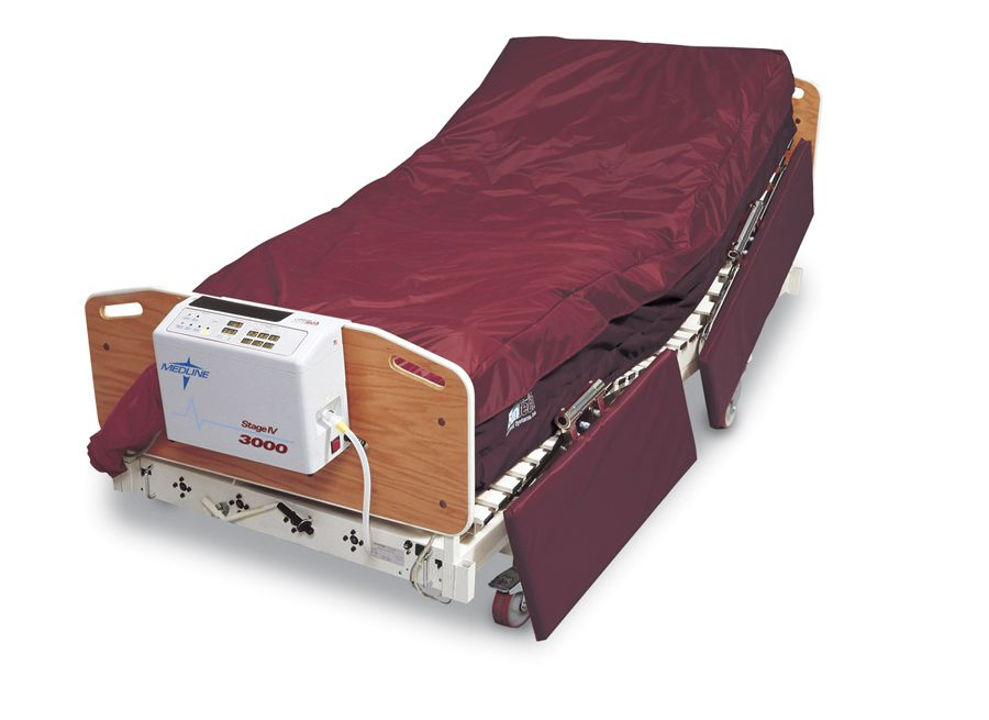 Medline Stage IV 3000 Mattress - Stageiv 3000, Nurse Home Version, Each - Model MDTMSEN3000