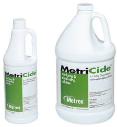 Metrex Research MetriCide Instrument Disinfectant / Sterilizer, Liquid 1 Quart, Each - Model 10-1405