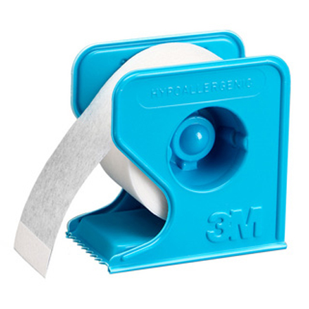 3m Sports & Leisure Micropore Tape with Dispenser, 1