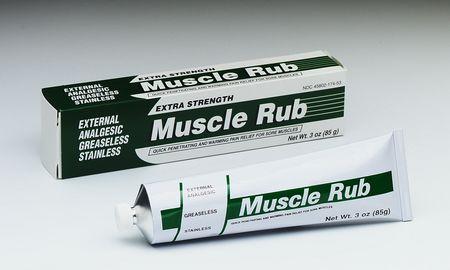 Muscle rub reviews