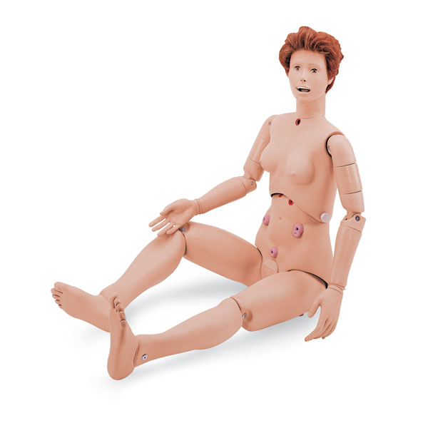 Nasco Susie/Simon Training Manikin w/ Ostomy b - Hospitl Train, Each - Model SB20140U