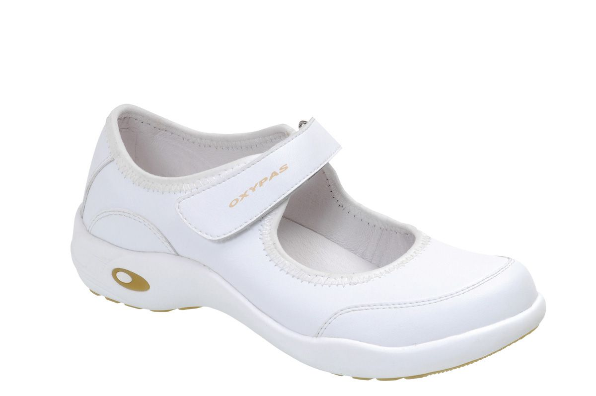 The Gallery For Gt White Mary Jane Nursing Shoes